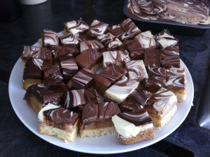 Pic of home-made millionaire's shortbread