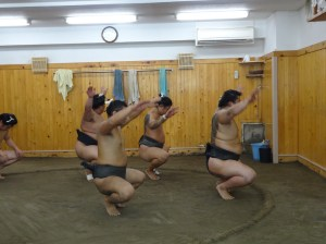 Squat like a boss... or just like a Sumo wrestler.