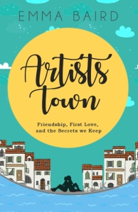the cover of the novel Artists Town