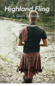 Highland Fling book cover by Emma Baird