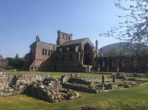 Mel;rose abbey