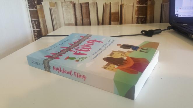 paperback version of Highland Fling