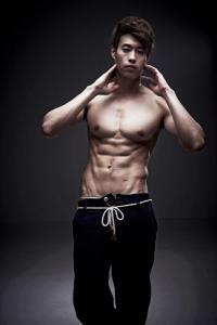 Kim Sun Wang - male model
