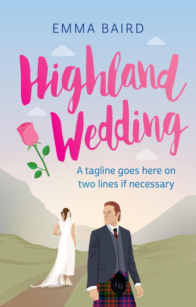 Highland Wedding by Emma Baird book cover