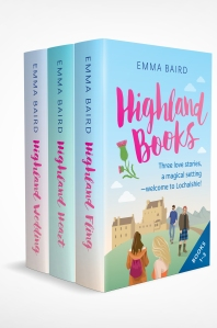 Highland Books box set by Emma Baird